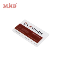 Customized Printing Clear Plastic PVC Transparent Business Card