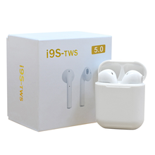 electronic free <strong>sample</strong> true wireless 5.0 bluetooth headset earbuds oem I9S tws ear buds head-phones