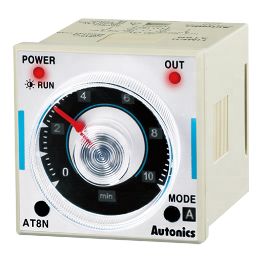 Original Autonics AT8N Multi-function Digital <strong>Timer</strong> with Analog Dial Control