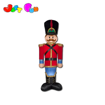 inflatable Gemmy 12ft Lighted Toy Soldier Christmas Inflatable