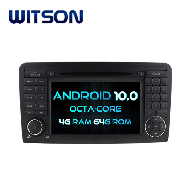 WITSON <strong>ANDROID</strong> 10.0 CAR DVD GPS NAVIGATION FOR Mercedes-Benz ML350 GL-X164 G320 GL350 GL450 GL500