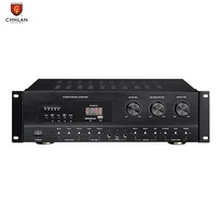 TOP Selling 2 Channel 130w*2 Bluetooth MP3 Mixing Stereo Digital Karaoke Amplifier Hifi Audio System for Home Theatre