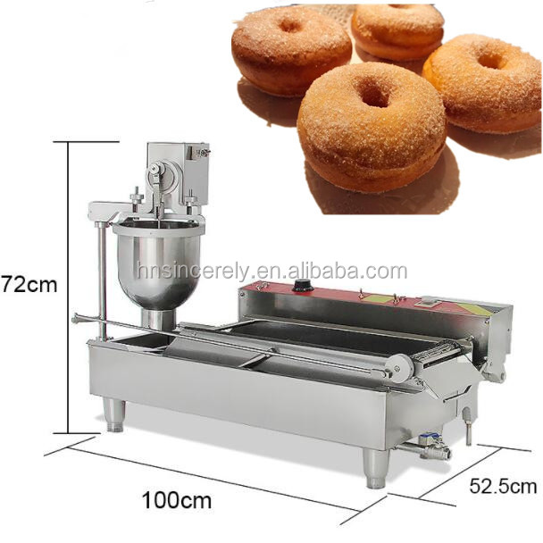 hot sale in the world donut machine automatic mini donut machine fried dough twist making machine