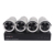 H.265 4CH 1080P 48V POE NVR kit 2mp CCTV Security System Support Web CMS Mobile P2P Monitoring