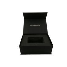 Solid Black Paper Cardboard 30ml Bottle Perfume Box Packaging