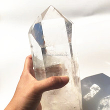 Natural Large Clear Quartz Rock Crystal Healing <strong>Points</strong> for Decoration