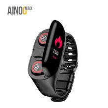 Ainoomax L274 reloj inteligente con audifono smartwatch wireless headphone earphone earbuds <strong>smart</strong> <strong>watch</strong> with earbuds <strong>watch</strong>