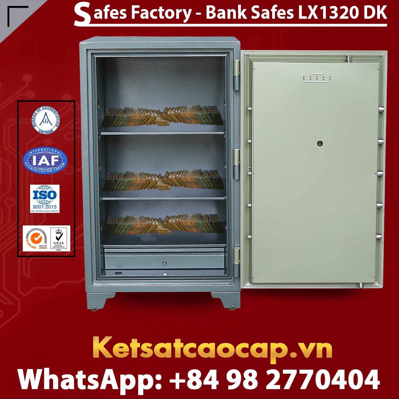 Safe Deposit Box Factory Direct & Fast Shipping