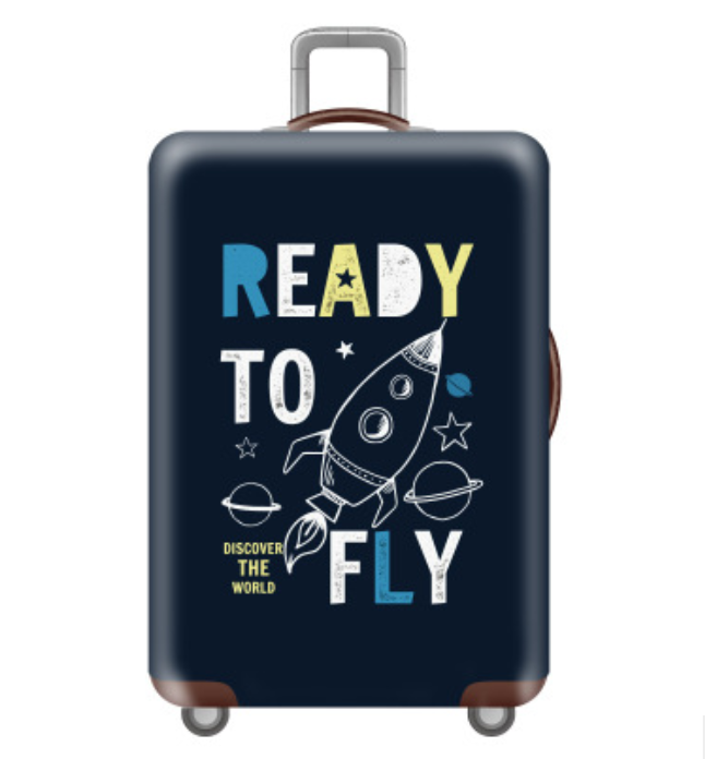 Custom design protective suitcase covers Polyester Spandex Elastic Stretchy Thick Travel luggage Cover <strong>protector</strong> for traveling
