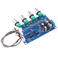 Taidacent XH-M164 Tuning Board Dual Channel NE5532 Front Board High and Low Volume Adjustment Finished XH-M164 Tone Preamp
