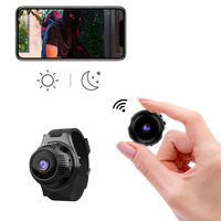 Wearable Night Vision Motion Detection Camcorder New Mini WiFi IP Camera with Wrist Strap APP Remote View