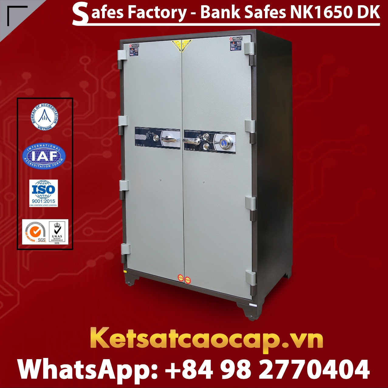 Bank Safes Box made in Viet Nam
