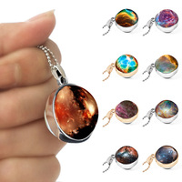 316l stainless steel planet astronomy necklace for women jewelry necklaces pendants CY415