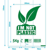 100% Biodegradable 100% Compostable potato Starch biodegradable supermarket Shopping Bags EN13432 certified