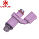 DEFUS Wholesale price pink 450cc 16holes Motorcycle Fuel Injector nozzle for Y15ZR FZ150