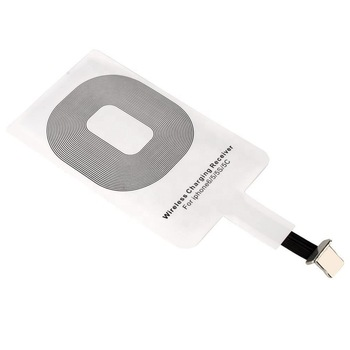 Universal phone accessories Qi universal wireless charger receiver for iphone wireless charging card