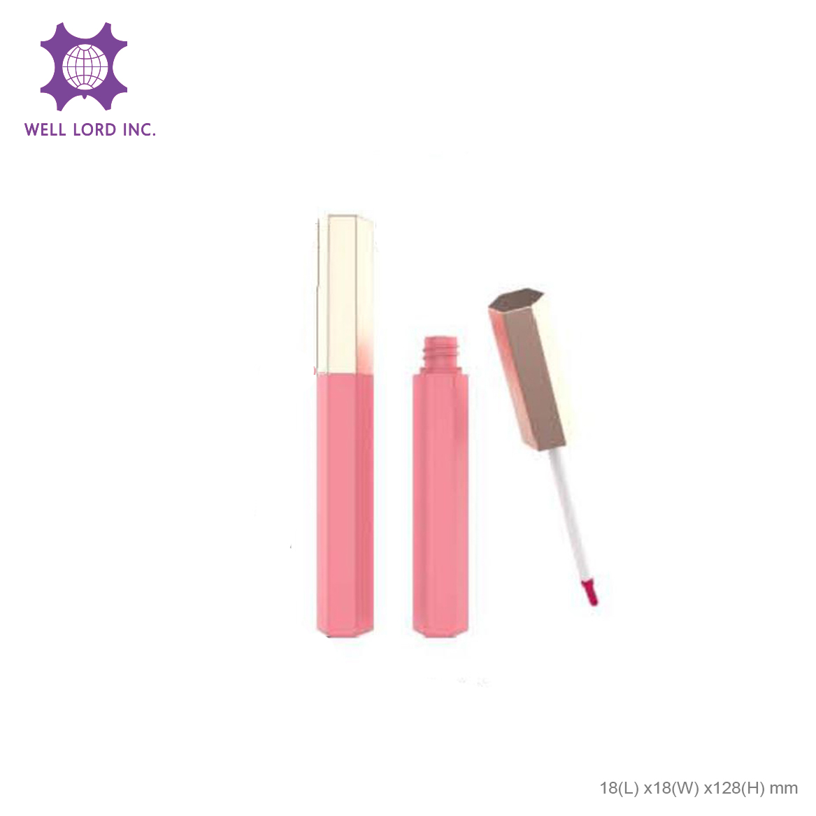 Power glossy vivid hot refillable liquid glossy best selling lipstick private label matte