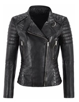 Ladies Leather Fashion Jackets