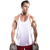 Custom Breathable cotton men gym vest tank tops