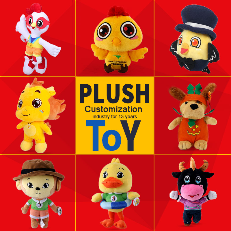 customized character idol doll handmade Super Soft Plush kids Doll Stuffed Plush boy Toys