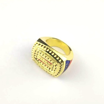 Customized championship gold silver Finger Ring for the competition
