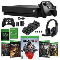 Oferta Melhor For Gears 5 Xbox One X Limited Edition Bundle Console with Wireless Controller Wth 10 free games