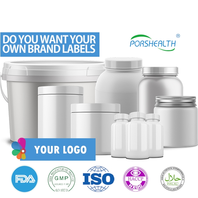Porshealth free label design meal replacement shake with keto weight loss supplement