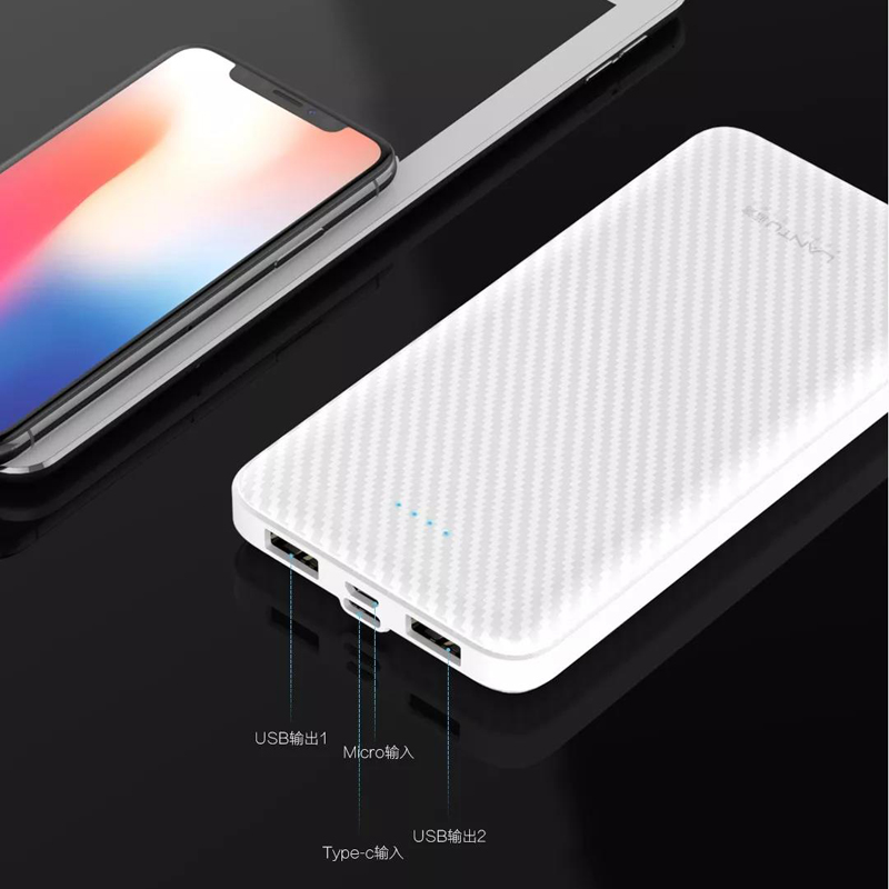 10000 mah ultra thin power bank type <strong>c</strong> input wallet power bank sharing for android <strong>mobile</strong>