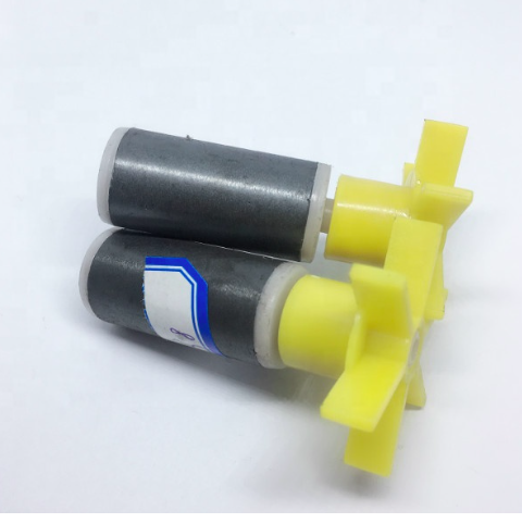 19x30 POM Injection Molded Drainage Pump Motor Sintered Permanent <strong>Magnet</strong> Rotor with Shaft for Washing Machine