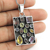 New design multi gemstone pendant handmade 925 silver jewelry wholesale sterling silver pendants suppliers