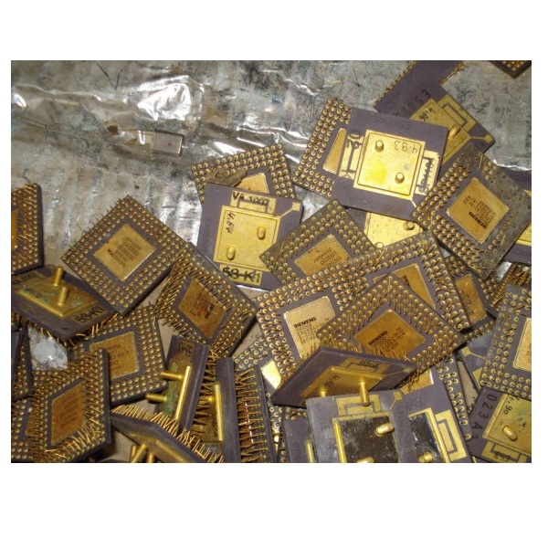 HIGH YIELD GOLD RECOVERY CPU CERAMIC PROCESSOR SCRAPS/Ceramic CPU scrap/ COMPUTERS scrap Available For sale. **