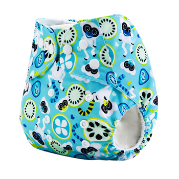 2020 AnAnBaby Washable And Organic Sleepy Baby Diaper Cloth Pants