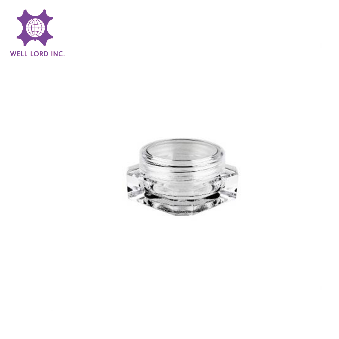 Transformer duo Multi-Dimensional plastic cosmetic packaging jar screw cap produce containers jar