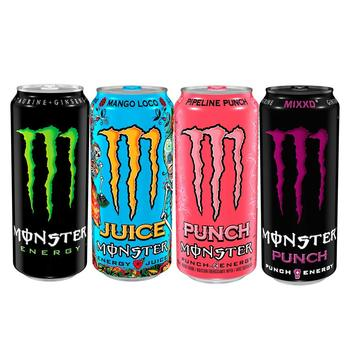 Mix flavors energy drinks , Monster energy Drinks wholesale