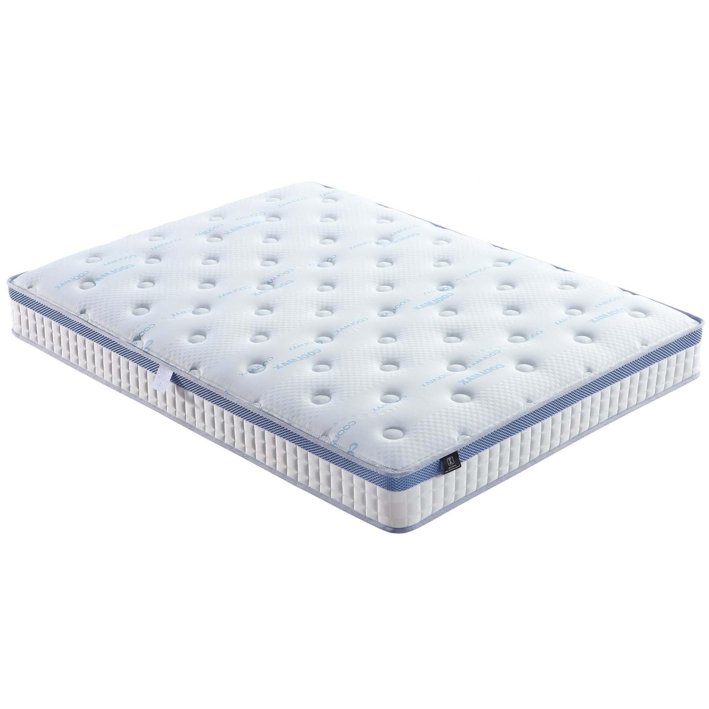 20cm Thickness Soft Convoluted Foam Euro Top Bonnel Spring Mattress - Jozy Mattress   Jozy.net