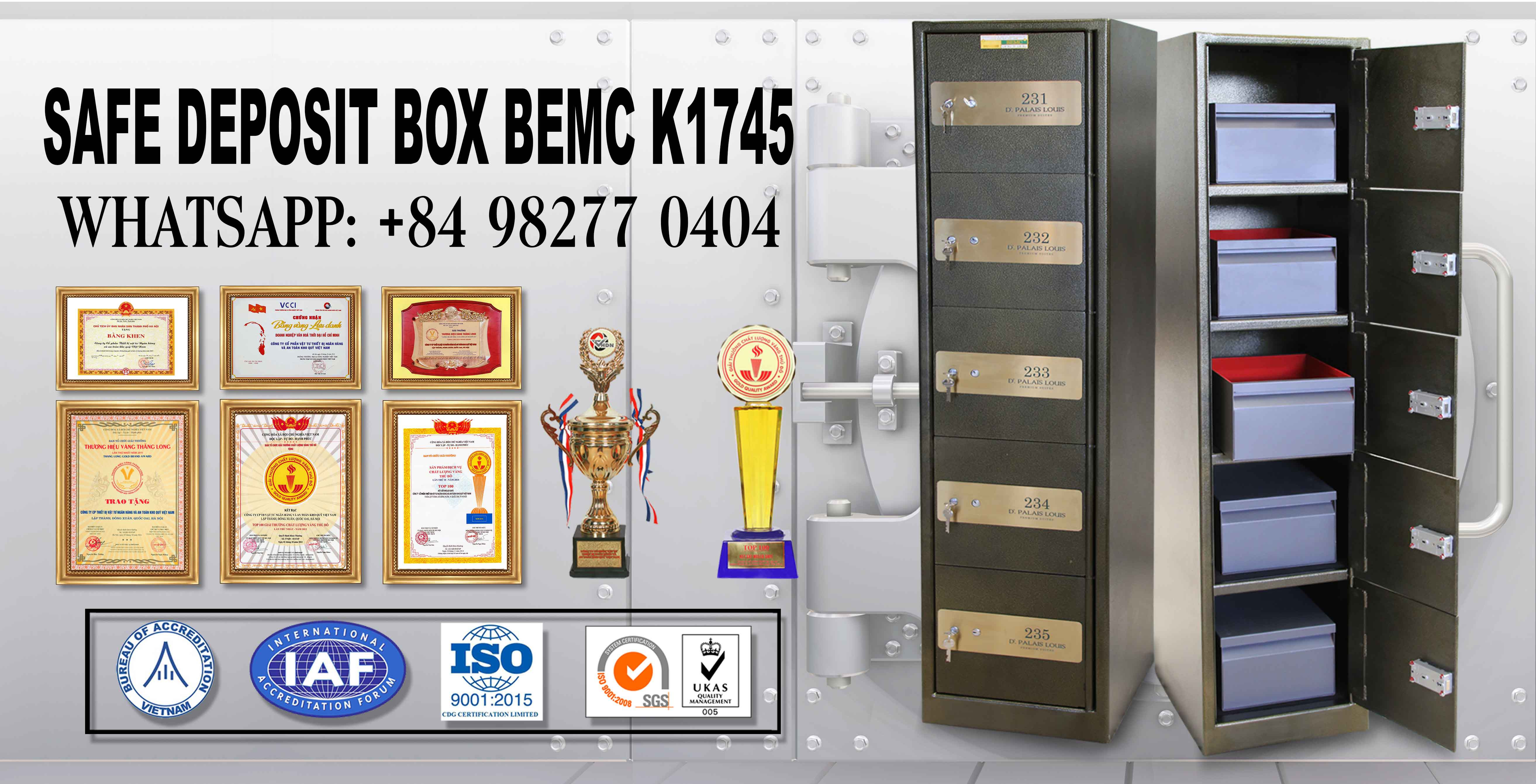 Safe deposit box Supplier | Custom Material, Size