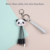 Panda Sloth Usb 3 in 1 cable Multi Functional Charging Keyring Cable Mobile Phone Type C Fast Keychain Charger Cable