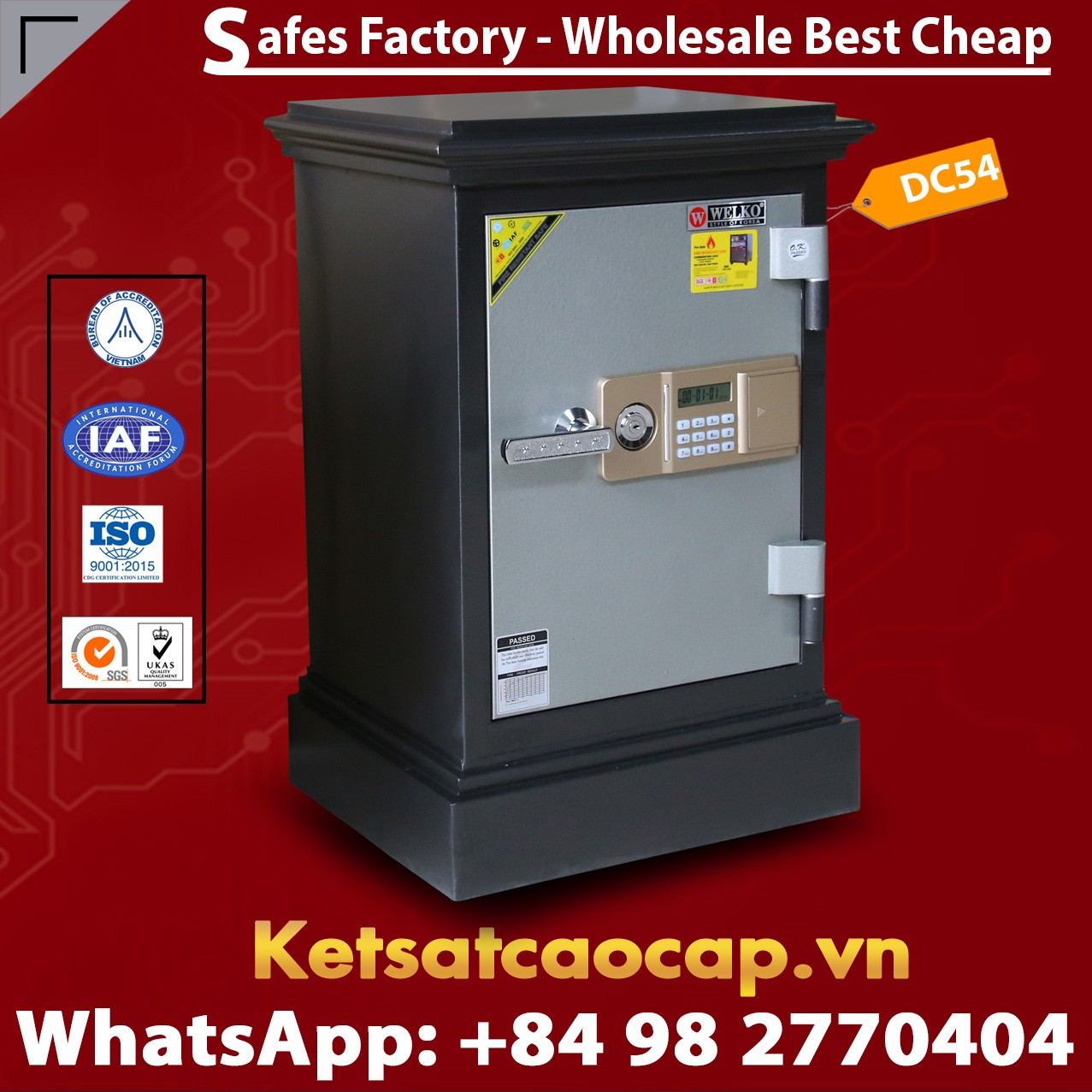 DC54 E Personal & Home Safes Security Safes Best Seller