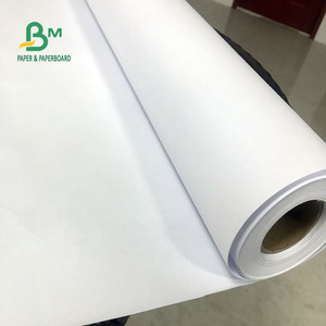 "A0 A1 White Bond Paper / CAD Plotter marker paper Roll with 24"" 30"" 36"" * 50 yds"
