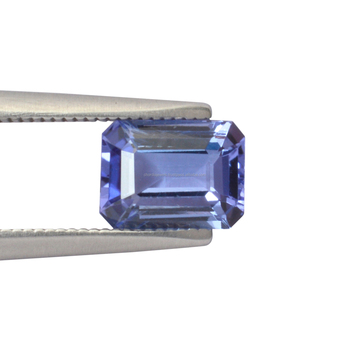 1.65 cts. AA quality Natural Blue Tanzanite 8X6X3.70mm octagon emerald cut faceted loose gemstone