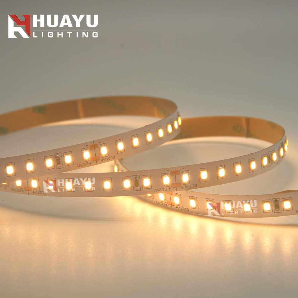Ultra Bright Warm White 24V 5 meters and contains 155lm/<strong>W</strong> <strong>128</strong> pcs SMD 2835 LEDs LED Strip