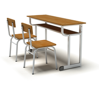 Tables and chairs for pupils and students