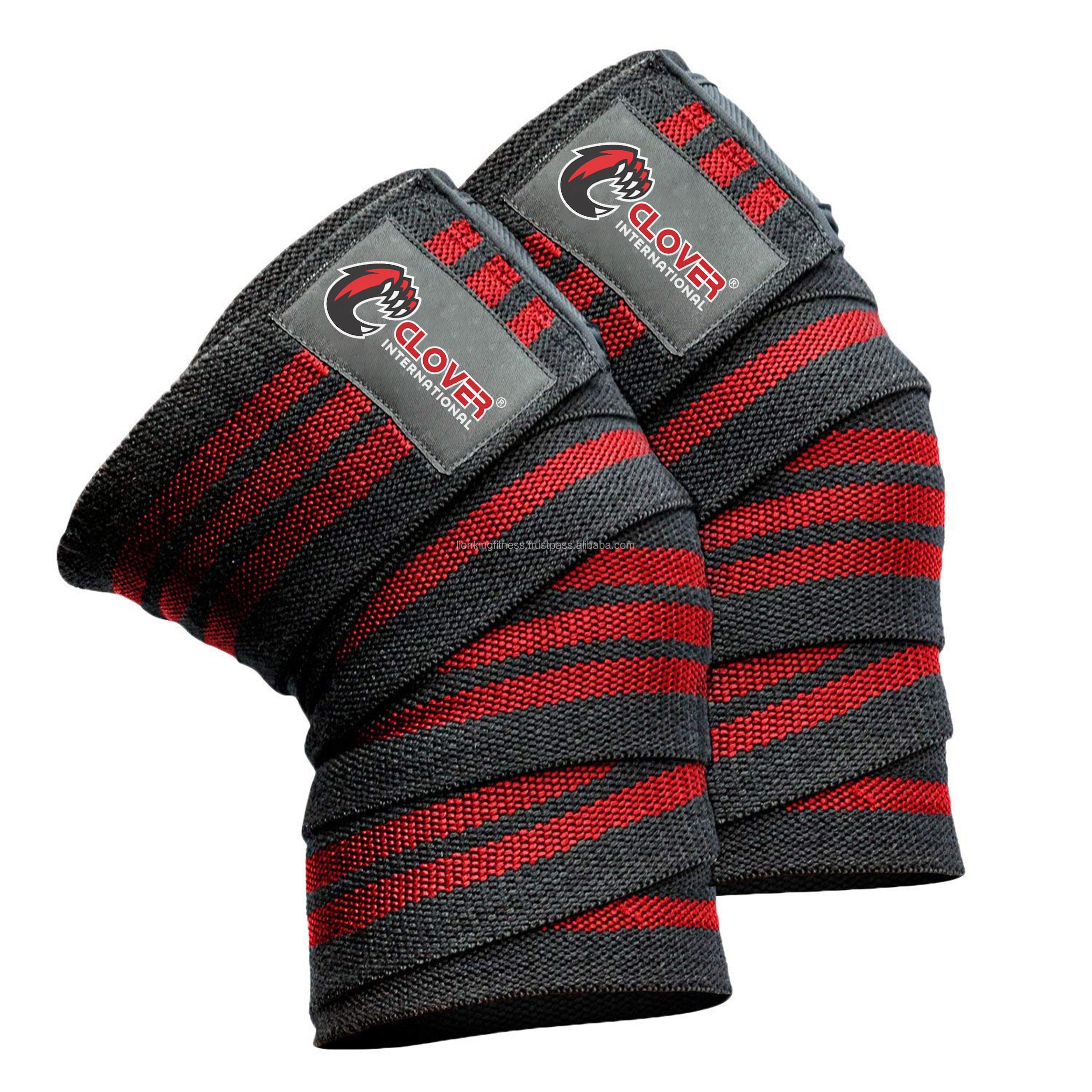 Men knee compression support wraps
