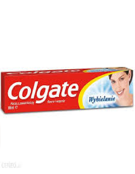 COLGATE-TOOTHPASTE AND BRUSH TOOTH CLEANER