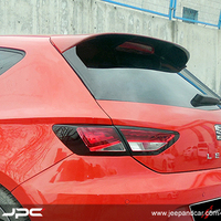 Seat Leon 2012 Mk33.5 - Spoiler, Glass Side Strip, FR St., Raw Surface, ABS, Set