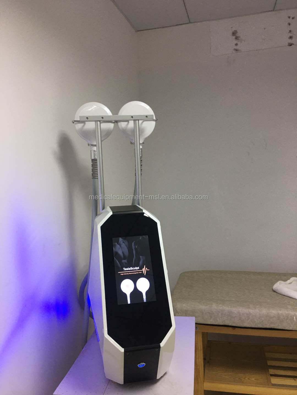 7 Tesla Intensity muscle stimulator & fat burning TeslaSculpt slimming machine