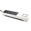 Lexuma XStrip 3 way 15A Surge US Protected Power Strip with USB Quick Charge 2.0