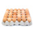 Fresh Chicken Table Eggs Brown and White Shell Chicken