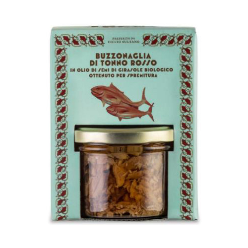 Canned 190 g Italian bluefin tuna pieces  in sunflower oil for seasoning appetizers and pasta in glass jar 190g