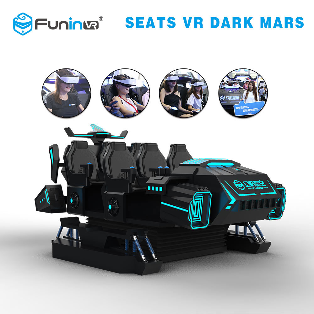 Funin VR 3D Virtual Reality Glasses With Motion Chair 9D VR Game Machine Park Rides Wholesale Amusement